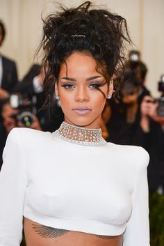 The Year in Lipstick According to Rihanna