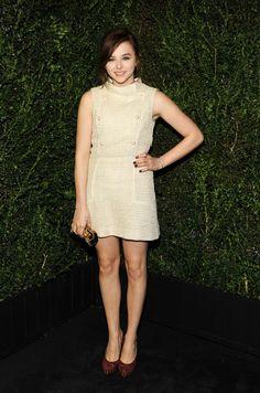 Chloe Moretz at Chanel Pre-Oscar dinner party.