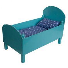 lit de poup e en bois laqu petit pan oh que c 39 est beau for the kids leuk voor de. Black Bedroom Furniture Sets. Home Design Ideas