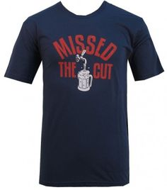 missed the cut travis mathew golf tshirt