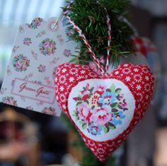 Greengate Christmas Heart