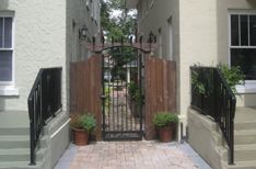 Pergola : a great way to connect to buildings for visual interest and for security. Centerbeam Construction Jacksonville, Florida www.centerbeamconstruction.com