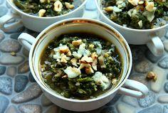 Zupa jarmuz seler L_ 03 Palak Paneer, Ethnic Recipes, Food, Meal, Essen, Hoods, Meals, Eten