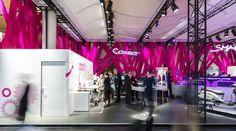 Deutsche Telekom Trade Fair Stand at Hannover Messe 2015 by hartmannvonsiebenthal, Hannover – Germany » Retail Design Blog