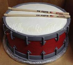 Drum cake! https://www.facebook.com/ KellyQLovesCake