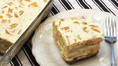 Check out this delicious Mango Float Freezer Cake recipe! Learn the ingredients and easy instructions here.