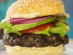 Get this all-star, easy-to-follow Black Bean Veggie Burgers with Greek ...