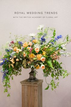 Royal Wedding Trends with Accent Decor and the British Academy of Floral Art