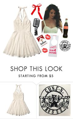 """""""Dying young and I'm playing hard"""" by dandelionapril ❤ liked on Polyvore featuring Abercrombie & Fitch"""