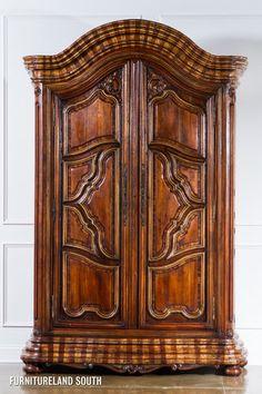 Taracea USA Furniture Old World Hand Carved Montbrun Wardrobe Reclaimed Cedar | eBay