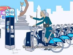 With 570 stations and around 8,000 bikes, London's bike share programme is a great resource, but if you've never used a bike-share before, it can be a tad intimidating. That's why the 4-minute video primer above was a great idea. It explains when bike-share is useful, how to get a membership, what not to do with your bike, how to handle a bike that needs repair, etc.