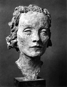 Marlene Dietrich by Ernesto De Fiori Marlene Dietrich, Bronze, Statues, Drawing Heads, Italian Sculptors, Sculpture Head, Inside Art, Vases, Ceramic Figures