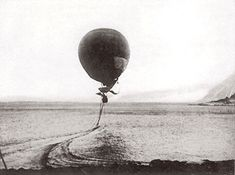 The Disastrous North Pole Balloon Mission of 1897 - A balloon that is steered via drag ropes. The method is wildly ineffective. The three drag ropes on the Eagle didn't even work long enough for the balloon to fully clear its launch area.