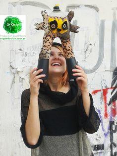 YaguarePET Protegete Consumí de modo Responsable y cuidá la BIOdiversidad  + Tierra - Vestido tejido  2º Ciclo Producción Sustentable