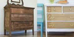 7 Fabulous Furniture Makeovers Using Stencils