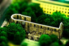 Architectural Building park tilt Shift Photography  http://smashingtips.com/tilt-shift-photography