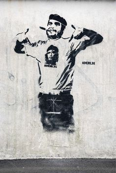 Che. street art 000 by Dolk