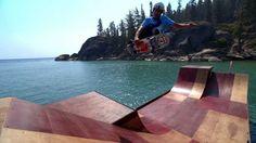 Bob Burnquist's Floating Skate Ramp | Visit California