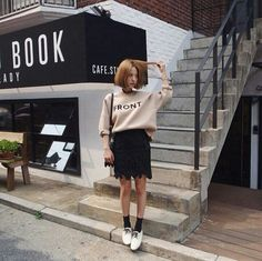 topit.me short hair love style clothes outfit
