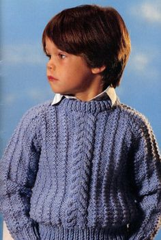 KNITTING PATTERN Book  Sweaters for Toddlers by KenyonBooks, $5.50