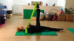 #Pilates esercizio con elastico Resistance Band Exercises