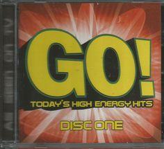 GO! Today's High Energy Hit - CD 1 NEW
