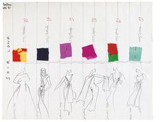 Yves Saint Laurent haute coutureCollection printemps-été 1991
