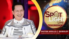 Watch another episode of Pastor Apollo C. Quiboloy's newest program, SPOTLIGHT. For your messages and queries, you can comment it down below so our Beloved P. Cute Dog Wallpaper, Kingdom Of Heaven, T Lights, Son Of God, Apollo, Spotlight, Super Cars, Blessed, Spirituality