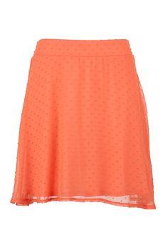 Textured Dot Pull on Skirt - maurices.com