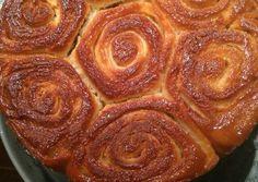 Torta 80 golpes Receta de Soledad Reyes- Cookpad Pan Dulce, Sausage, Bacon, Meat, Reyes, Breakfast, Food, Gastronomia, Canela