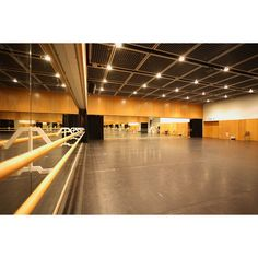 street dance studio design - Google Search ❤ liked on Polyvore featuring dance studio and places