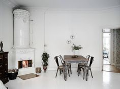 Stadshem, http://trendesso.blogspot.sk/2016/01/elegant-look-of-swedish-apartment.html