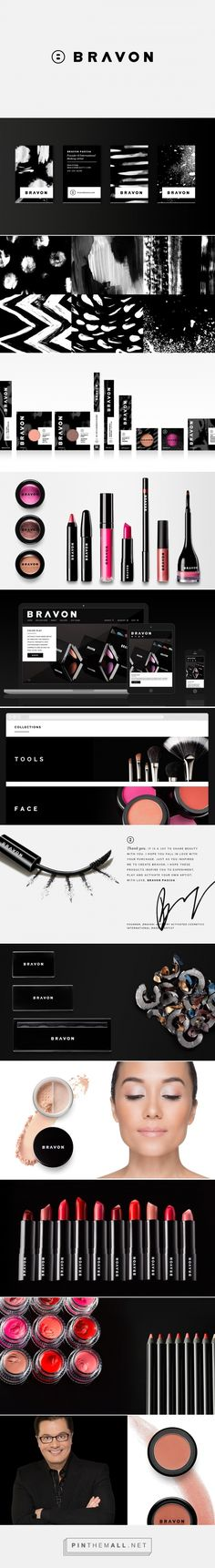 Bravon Beauty Cosmetic Branding and Packaging by Bartlett Brands | Fivestar Branding Agency – Design and Branding Agency & Curated Inspiration Gallery