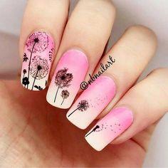 Naklejki dmuchawce - wzór nr S042  #nailsart #paznokcie #nails #nailsofinstagram #nailspiration #nailswag #raisinsklep #naklejkomania #naklejkiwodne #zdobieniepaznokci #shoponline #dandelionnails#dandelion #dmuchawcelatawcewiatr