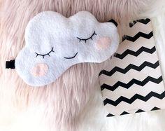 Cloud sleep mask, Sleep mask, Sleeping mask, Funny sleep mask, Sleep mask for women, Eye Mask, Cloud