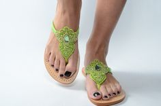 www.shopmystique.com Mystique Sandals, Green Sandals, Jeweled Sandals, Types Of Women, Fashion Sandals, Leather Sandals, Wedges, Pairs, Handmade