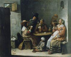 Josse van Craesbeeck - The Card Players