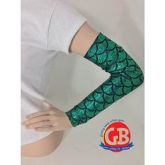 Little Mermaid inspired Costume running sleeves for the Ariel in you, choose your color!
