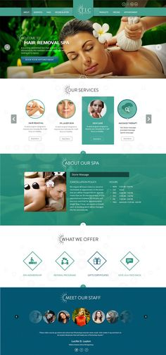 23 Best Spa and Beauty websites inspiration