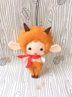 Mr. Tumnus The Chronicles of Narnia the faun Made to Order