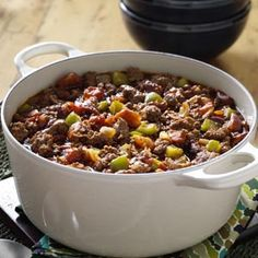 Chili con Carne Recipe from Taste of Home -- shared by Janie Turner of Tuttle, Oklahoma