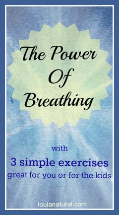 The Power of Breathing Loula Natural pin