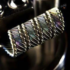 #coilporn #coilbuilds #coilart #vapeporn #vapeart #waketovape #bbv #brokeballervapes