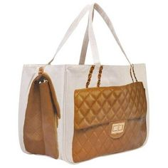 Thursday Friday Diamond Super Together Bag in Cognac ($79) ❤ liked on Polyvore