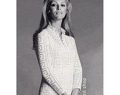 Boho Top Crochet Pattern Womens Smock Jacket Pattern Casual
