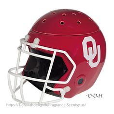 THE UNIVERSITY OF OKLAHOMA FOOTBALL HELMET WARMER
