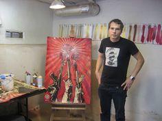 Shepard Fairey (Artist/Street Artist) http://obeygiant.com/