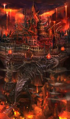 Underworld Castle from Kid Icarus: Uprising
