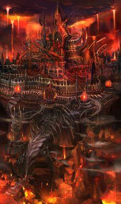 Underworld Castle from Kid Icarus: Uprising