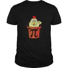 Chicken Pot Pie Shirt - Chicken Pot Pi T-Shirt Funny Math Jo LIMITED TIME ONLY. ORDER NOW if you like, Item Not Sold Anywhere Else. Amazing for you or gift for your family members and your friends. You'd sure look nice in one of our shirts! Funny Math Jokes, Math Humor, Hilarious, Pi Day Shirts, Mothers Day Shirts, Pi T Shirt, Pot Pie, Funny Tshirts, How To Look Better